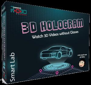 3D Hologram by Cybernetics Robo Ltd