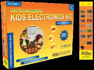 Kid Electronics Kit - Cybernetics Robo Ltd