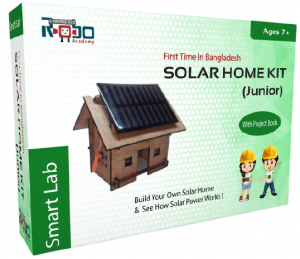 Solar Home Kit Junior - Educational Kit by Cybernetics Robo Ltd