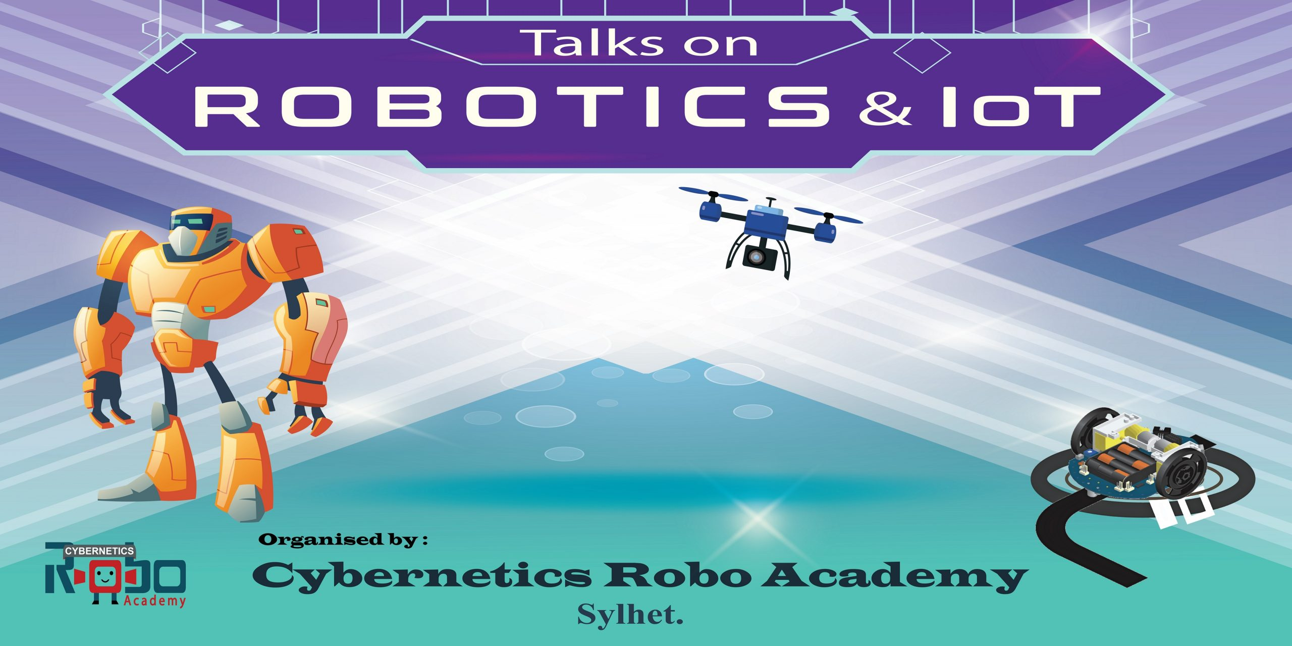 Free events at Cybernetics Robo Academy